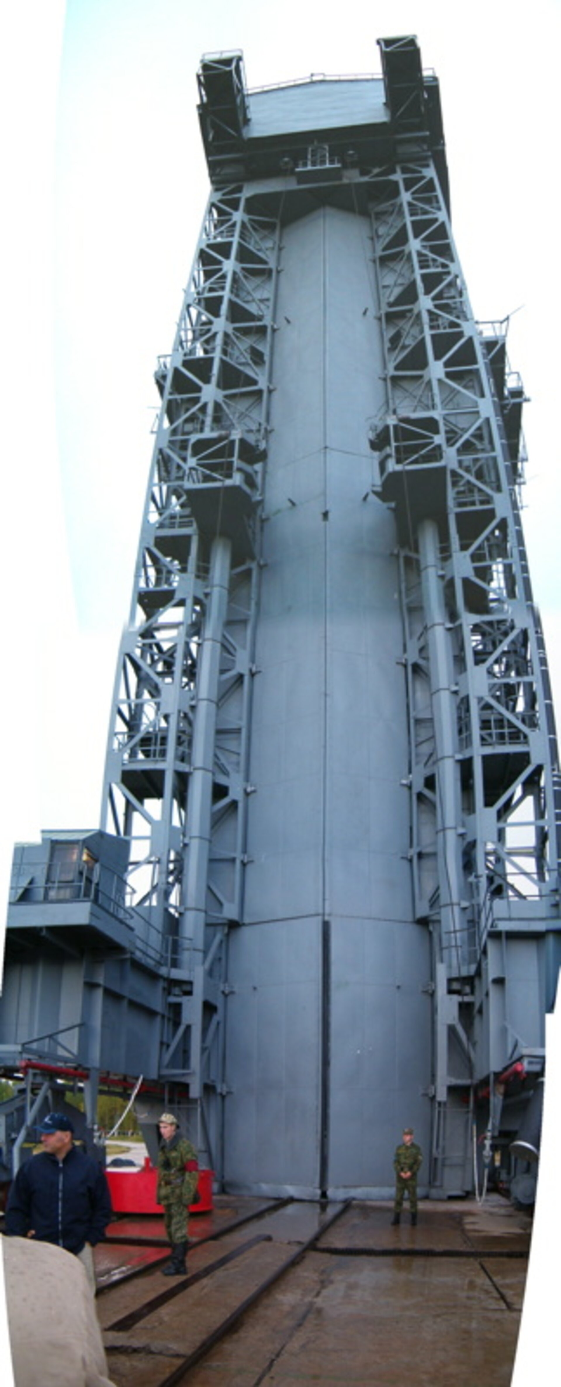 Rockot Launch Tower