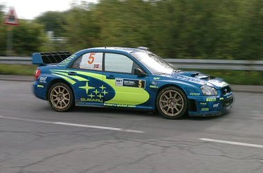 WRC competitor
