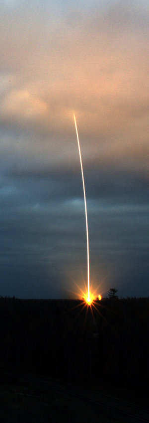 CryoSat launch, 8 October 2005