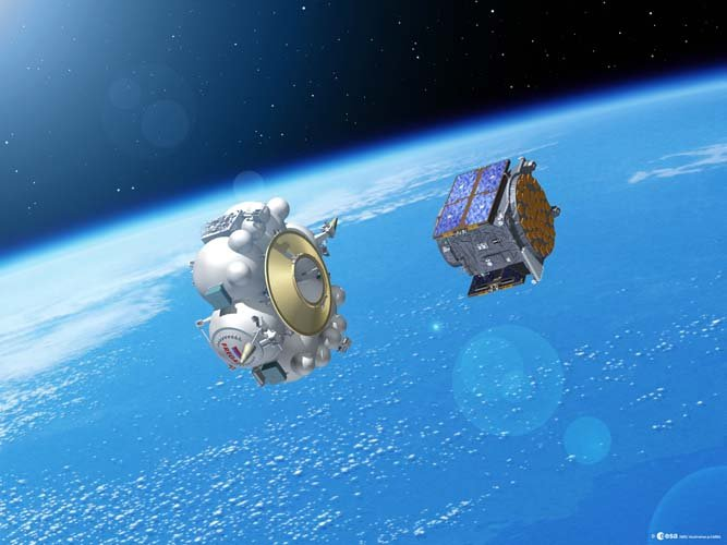 GSTB-V2/A launch - satellite separates from Fregat upper stage