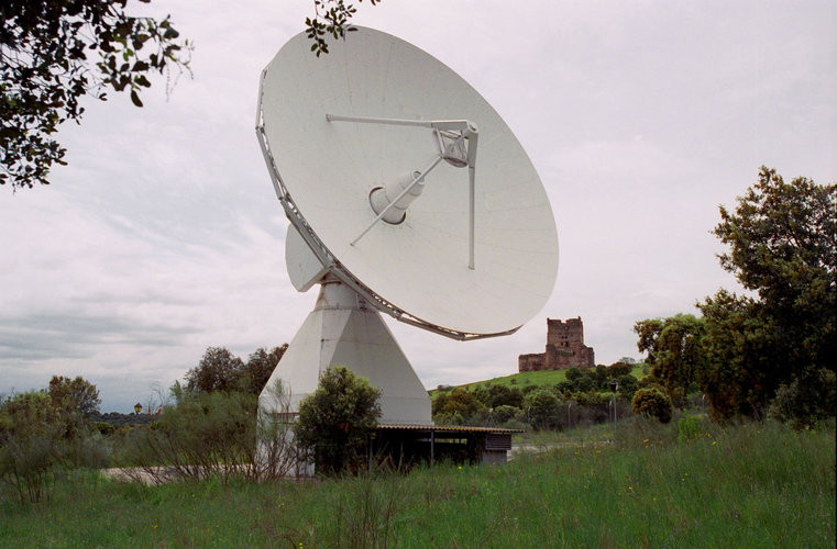 The Villafranca VIL-1, 15m S-band antenna