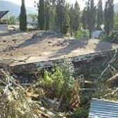 Collapsed school