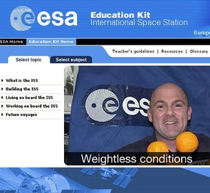 ISS Education Kit on the web