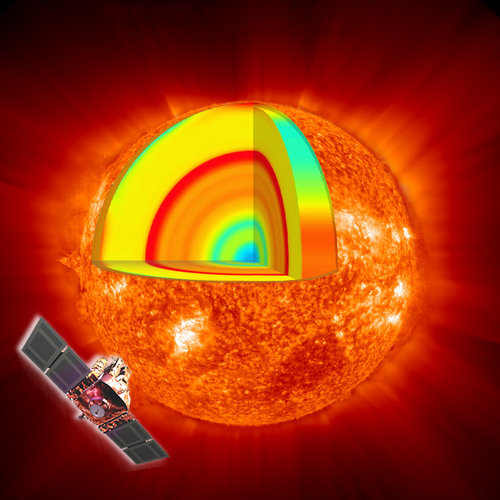 SOHO peers into the heart of Sun