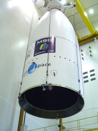 Fairing moving to Launcher