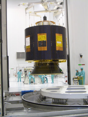 MSG-2 being prepared for launch