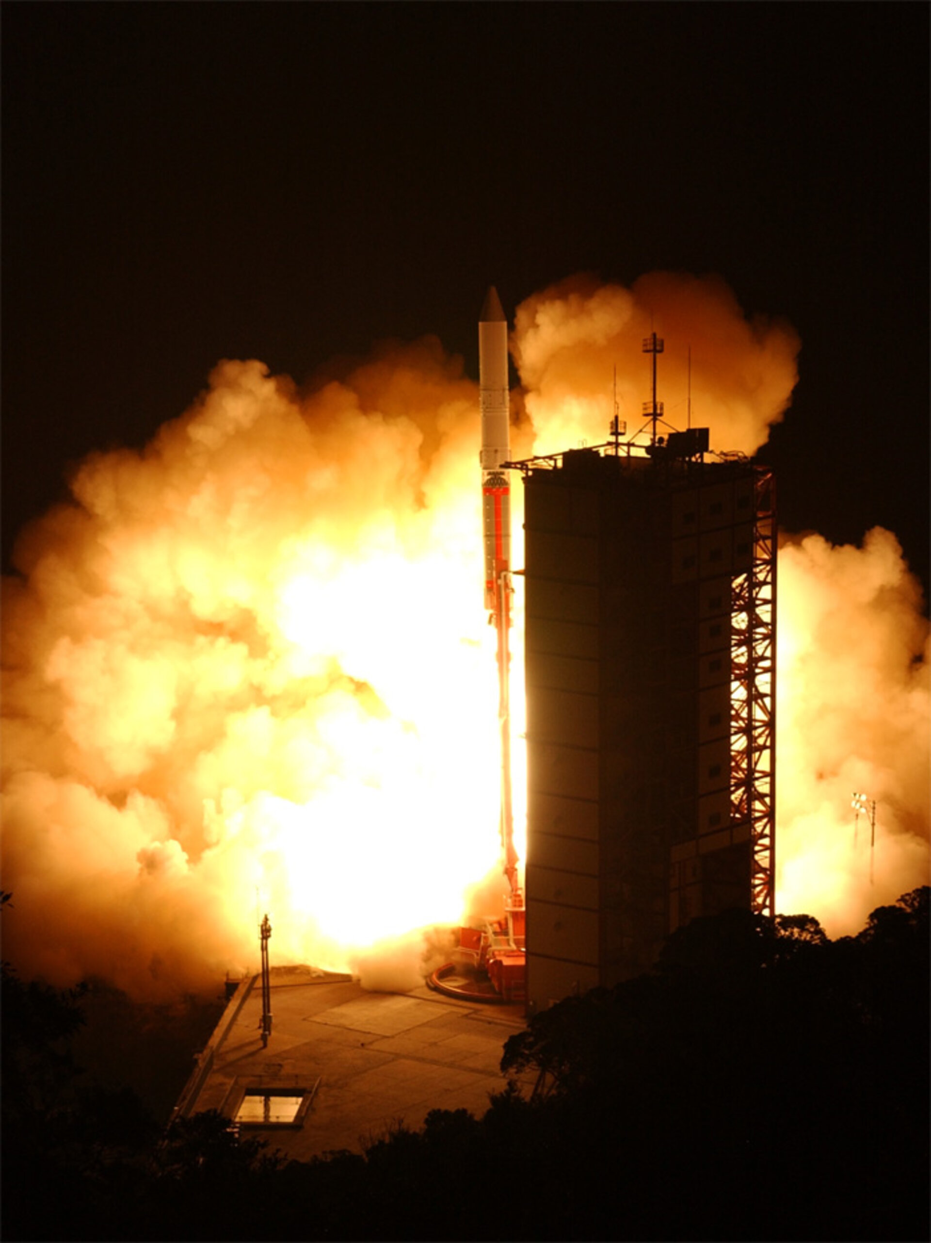 ASTRO-F, now called AKARI, is successfully launched