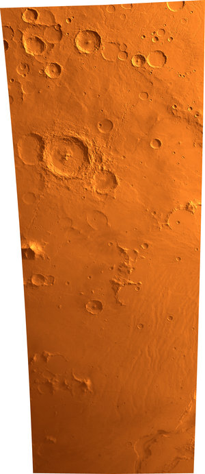 Hellas Planitia on Mars