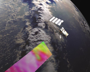 MetOp-A is Europe's first polar orbiting weather satellite