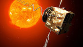 Venus Express investigates on solar wind conditions