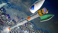 Venus Express payload fairing and Fregat