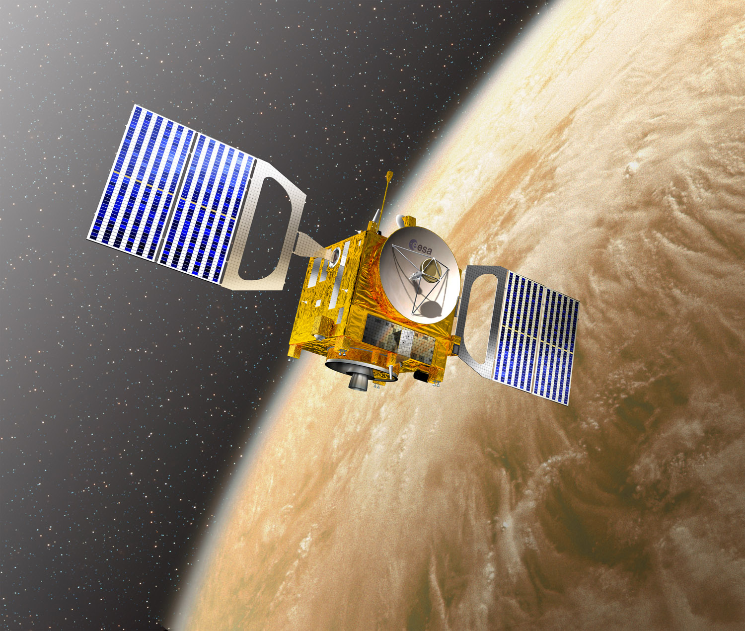 space probes of venus - HD 1500×1270