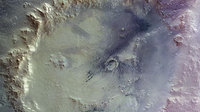 False-colour mosaic of Crater Galle