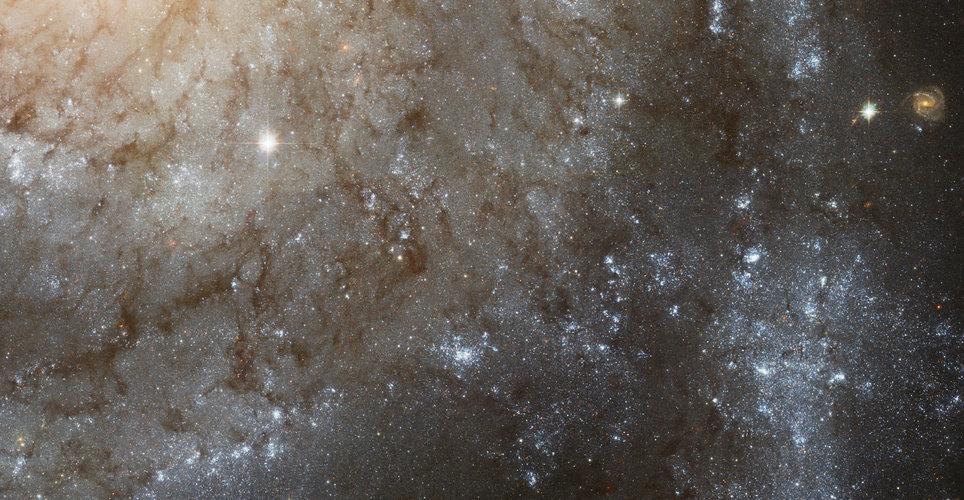 Hubble view of Spiral Galaxy M101