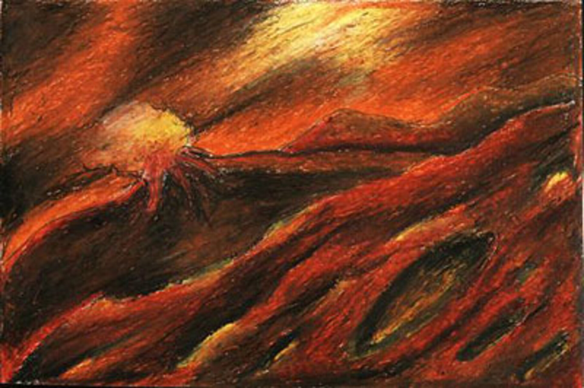 Volcanic Love by Upamanyu Moitra, age 12