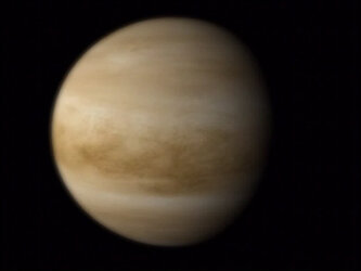 Animation of planet Venus