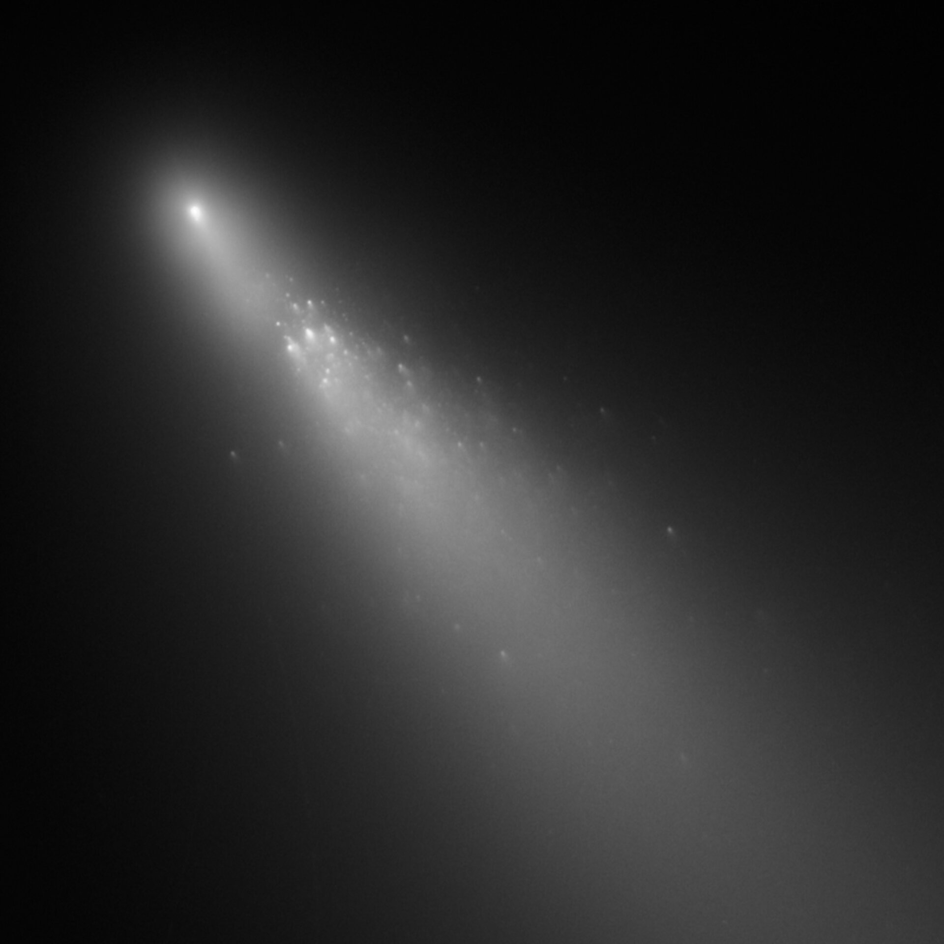 Another view of fragment 'B' of Comet 73P/Schwassmann-Wachmann
