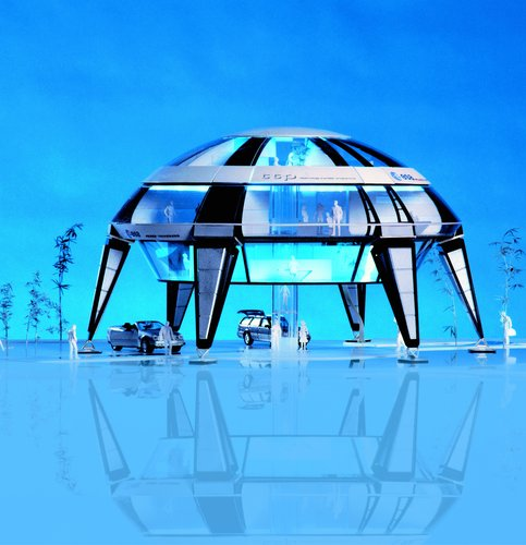 ESA's SpaceHouse shows how space technology could add new concepts for habitation