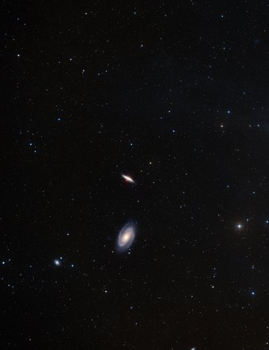 Galaxy pair M81 and M82