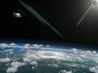 GOME-2 captures light reflected from the Earth's surface