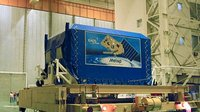 MetOp-A in the Upper Composite Processing Facility (UCIF)