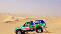 Pescarolo Dakar 2003 rally car with space technology onboard