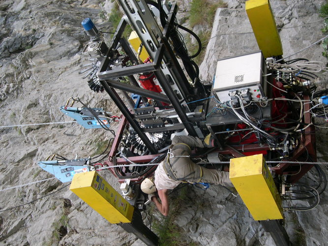 Roboclimber uses space technology to prevent landslides