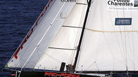 Sailboat improved by use of space technology