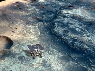 Sites for future Mars rovers?