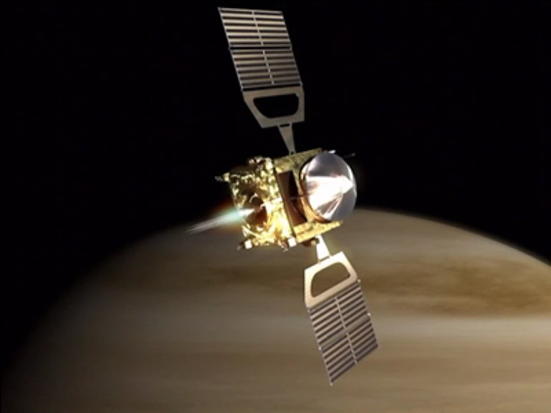 Venus Express orbit insertion