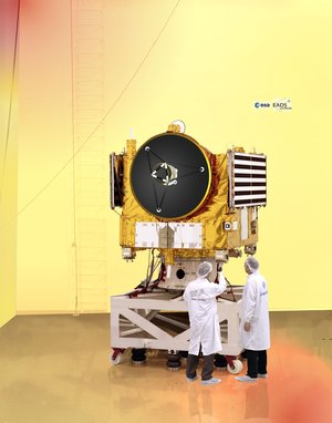 Venus Express probe in Intespace facility