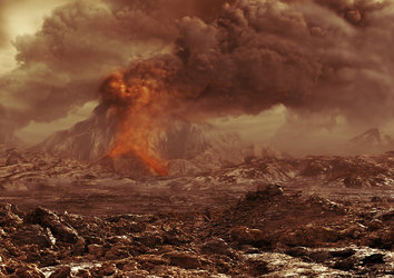 Volcanic activity on Venus?