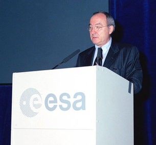 Jean-Jacques Dordain, ESA's Director General
