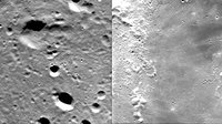 Highlands and ' mare'  seen by SMART-1