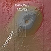Context map, Pavonis Mons
