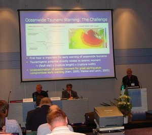 Presentation at IGS 2006, ESOC