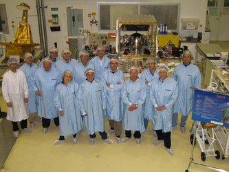 Proteus platform and joint ESA/CNES/AAS team