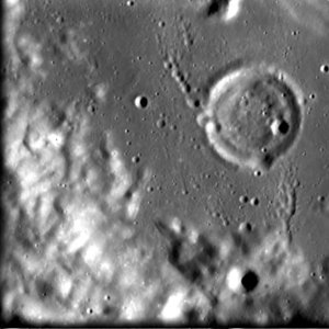 SMART-1's view of Crater Hopmann