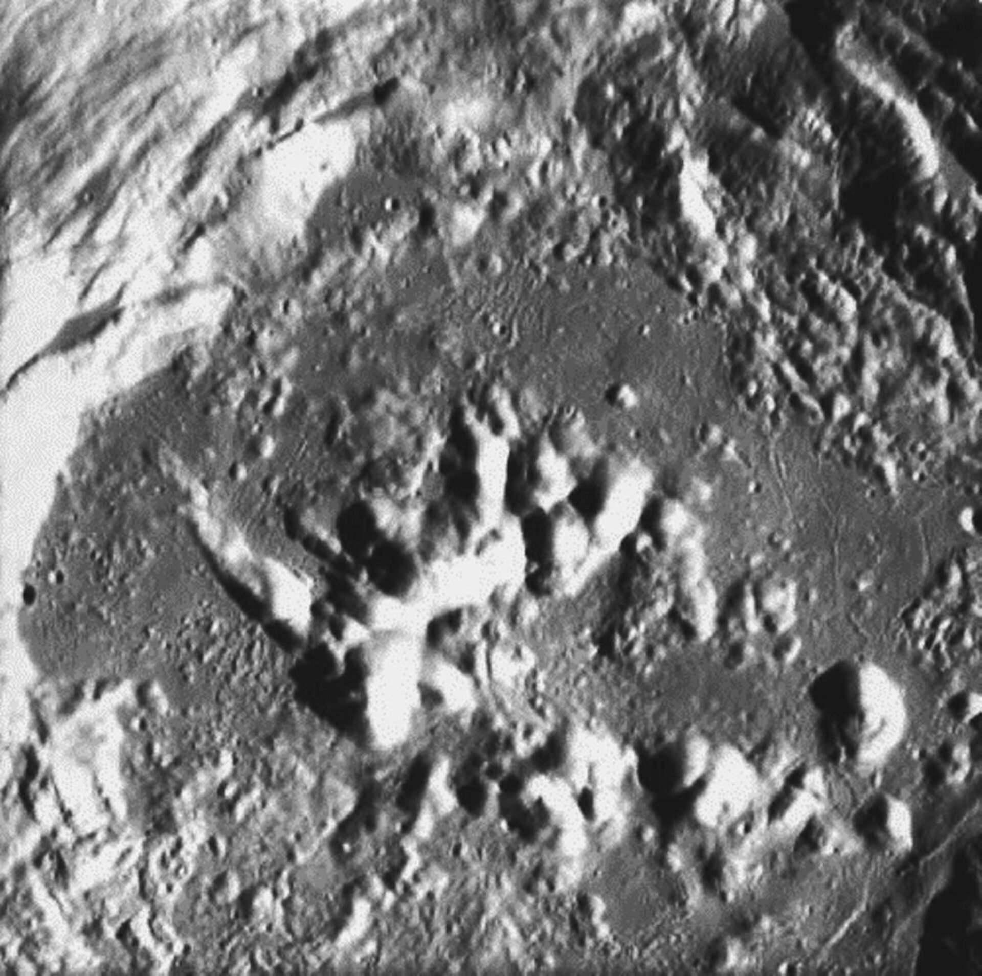 Crater Zucchius seen by SMART-1