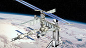 Artist's views of the ISS