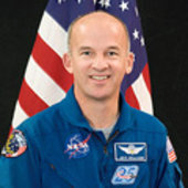 Astronaut Jeffrey N. Williams