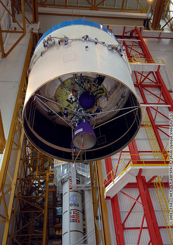 Hoisting of cryogenic upper stage