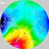 New ArcGP geoid (m)