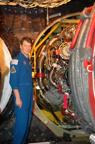 Paolo Nespoli at Kennedy Space Center