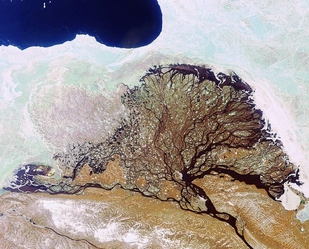 Russia's Lena River Delta as seen by Envisat