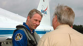 Reiter arrives at KSC