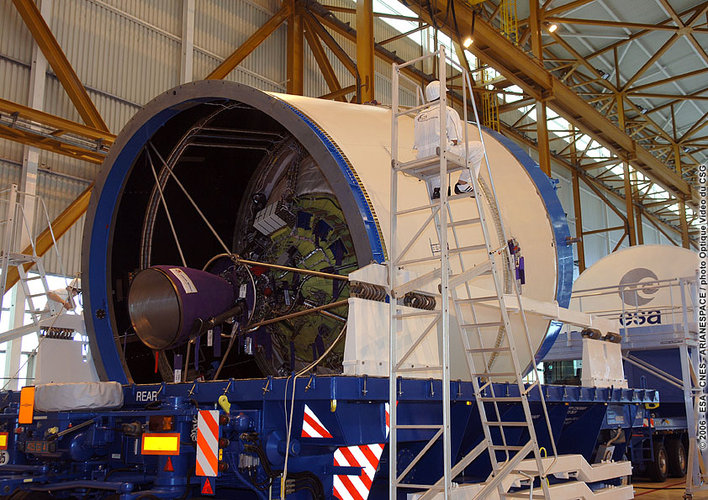 Unpacking the cryogenic upper stage