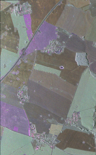 Airborne radar image 24 May 2006