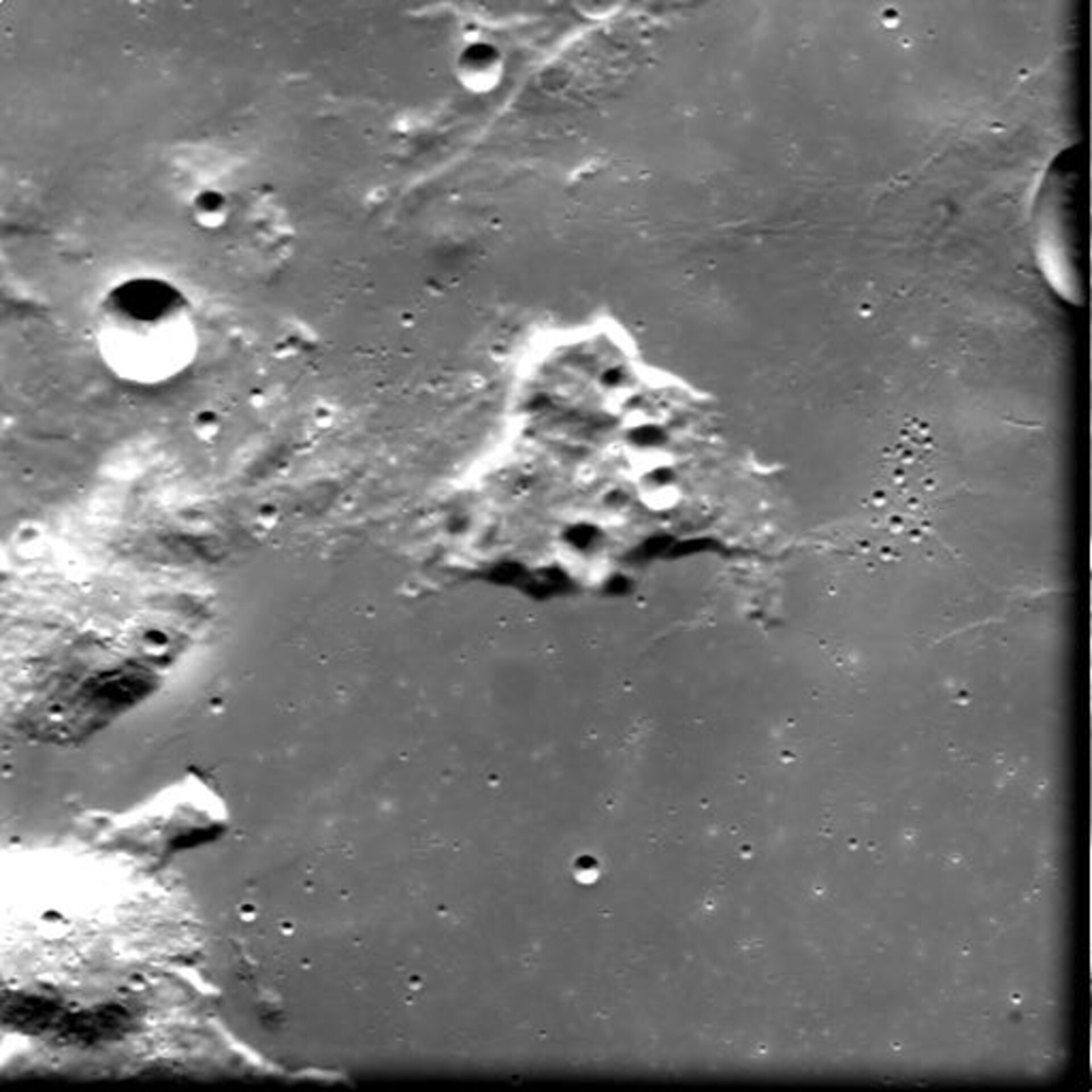 Gruithuisen area on the Moon as seen by SMART-1