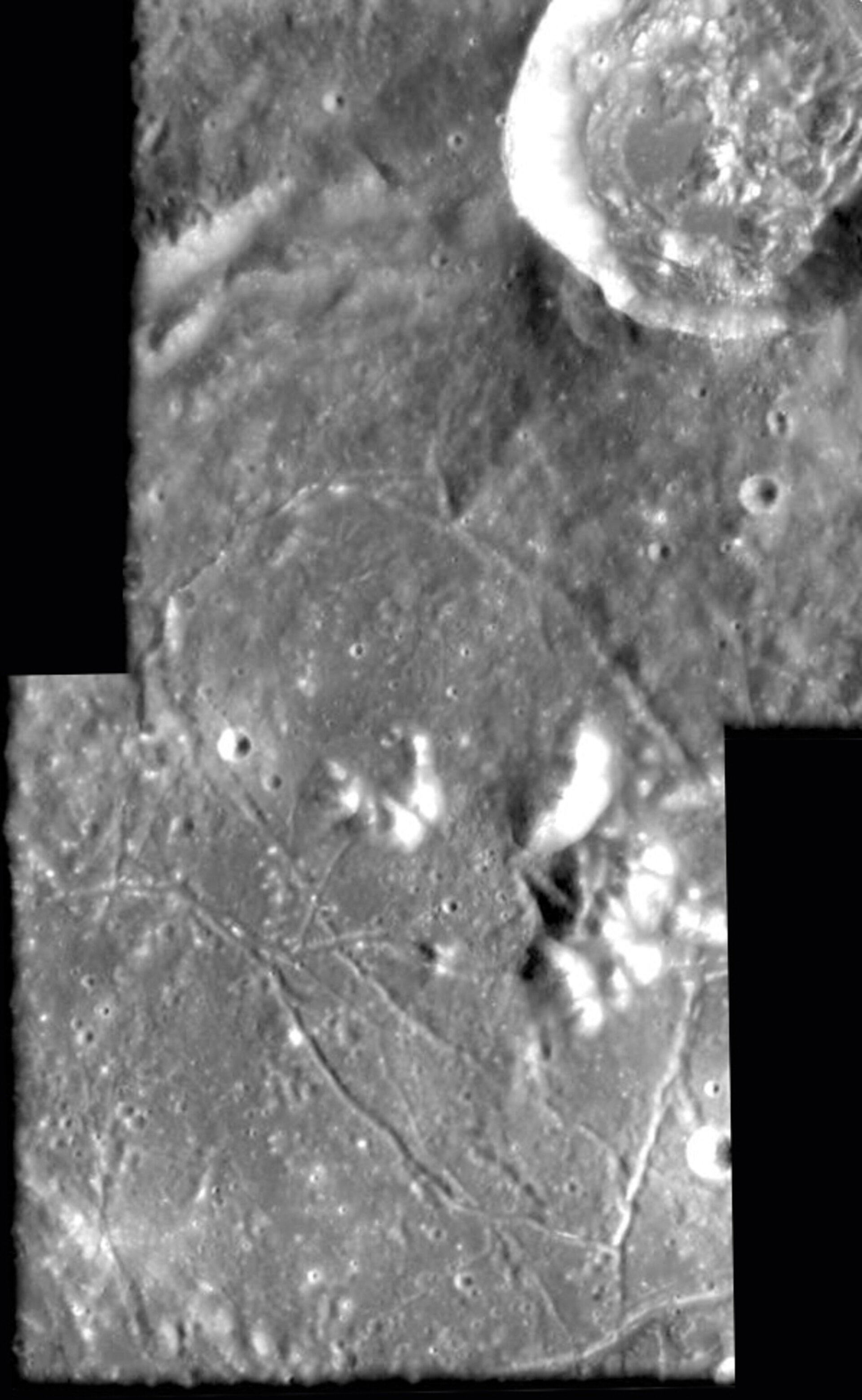 Inside of Gassendi crater